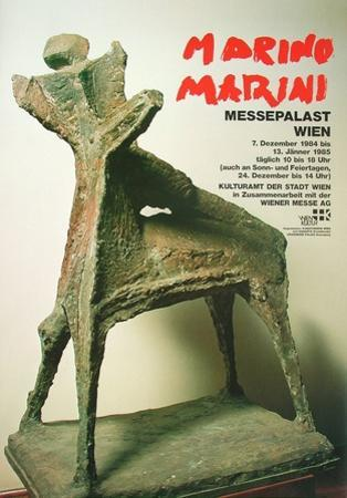 Man on a Horse by Marino Marini
