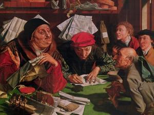 The Lawyer's Office, circa 1545 by Marinus Van Roymerswaele