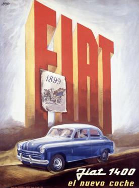 Fiat 1400 by Mario Bazzi