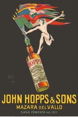 John Hopps & Sons Marsala Wine - Mazara del Vallo, Italy by Mario Bazzi