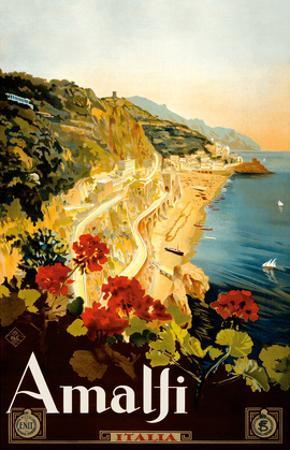 Amalfi Italia - Campania, Italy by Mario Borgoni