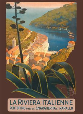 La Riviera Italienne (The Italian Riviera) - Portofino, Italy by Mario Borgoni