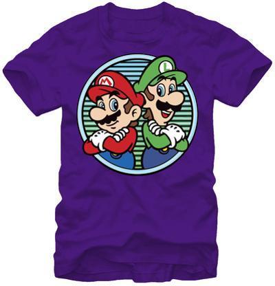 Mario Brothers- Neon Bros