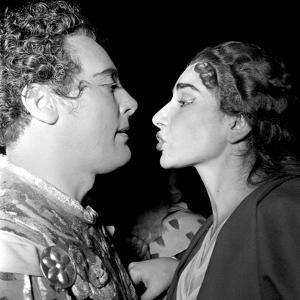 Mario Del Monaco and Maria Callas