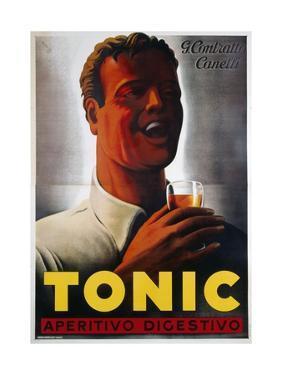 Tonic Aperitivo Digestivo Poster by Mario Gros