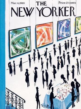 The New Yorker Cover - March 6, 1965 by Mario Micossi