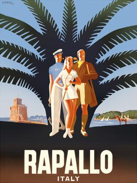 Rapallo, Italy by Mario Puppo