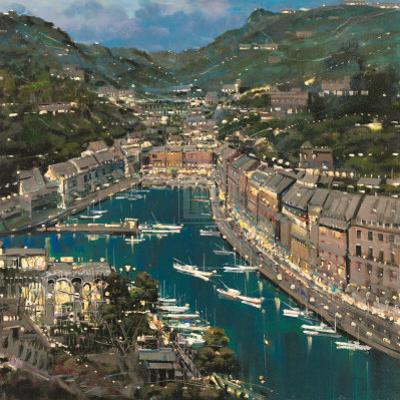 Portofino Twilight by Mario Sanzone