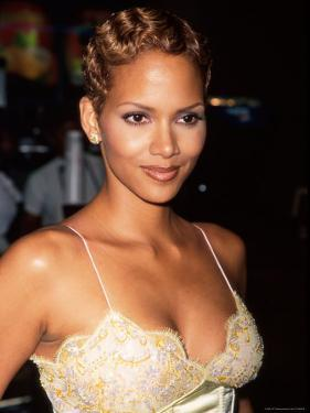 "Actress Halle Berry at Screening of Her HBO Television Film ""Dorothy Dandridge"" by Marion Curtis"