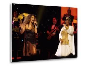 Mariah Carey and Aretha Franklin Vh1 Divas Live Concert at the Beacon Theater by Marion Curtis