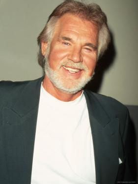 Singer Kenny Rogers by Marion Curtis