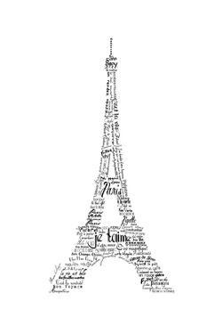 As the French Say…Eiffel Tower by Marion De Lauzun