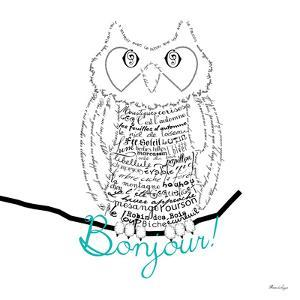 Bonjour Owl by Marion De Lauzun