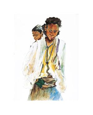 Ethiopian Girls by Marion Howard