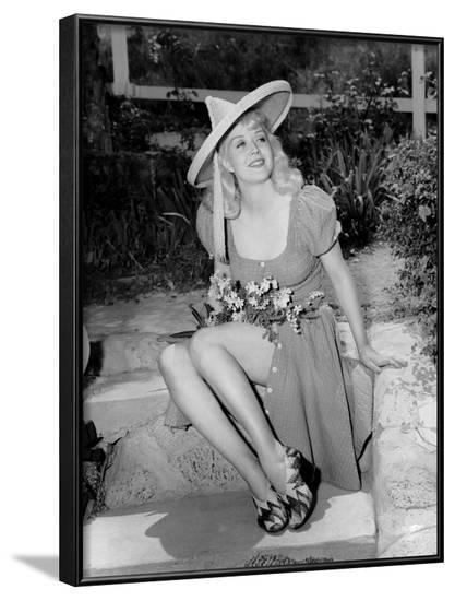 Marion Martin, 1941--Framed Photo