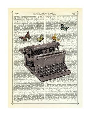 Typewriter by Marion Mcconaghie