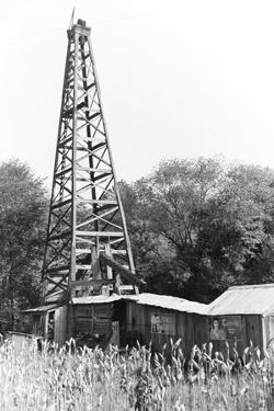 Abandoned Oil Derrick by Marion Post Wolcott