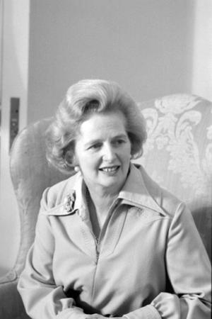 Margaret Thatcher as leader of the Conservative Party, 1975 by Marion S. Trikosko