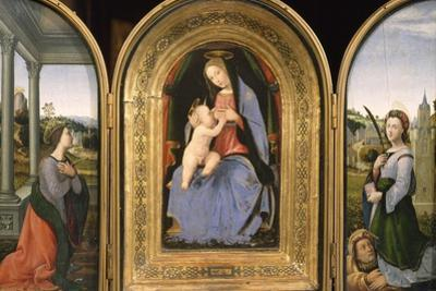 Madonna with Child by Mariotto Albertinelli