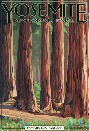 Mariposa Grove - Yosemite National Park, California