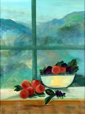 Interior with Window and Fruits by Marisa Leon