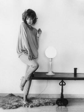 Monica Vitti Posing by Marisa Rastellini