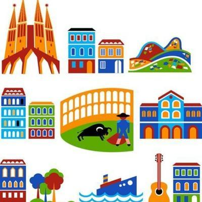 Barcelona - Landmarks And Attractions by Marish