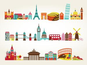 Travel And Tourism Locations by Marish