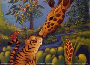 Jungle Love II by Marisol Sarrazin