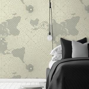 Maritime Maps Peel & Stick Wallpaper