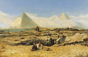 A Prayer by the Sphinx by Marius Alexander Bauer
