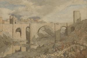 Bridge Near Toledo by Marius Bauer