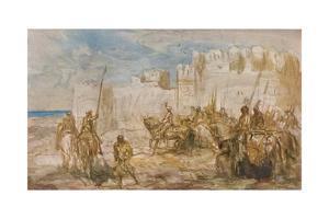 'Cavalry', c1910 by Marius Bauer