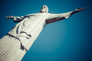 Christ The Redeemer Statue In Rio De Janeiro In Brazil by Mariusz Prusaczyk