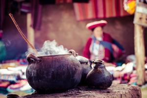 Traditional Village in Peru, South America. by Mariusz Prusaczyk
