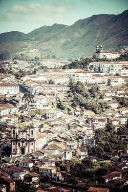 View Of The Unesco World Heritage City Of Ouro Preto In Minas Gerais Brazil by Mariusz Prusaczyk