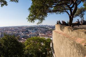 Castelo de Sao Jorge, Lisbon, Portugal by Mark A Johnson