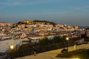 Miradouro de Sao Pedro de Alcantara, Lisbon, Portugal by Mark A Johnson