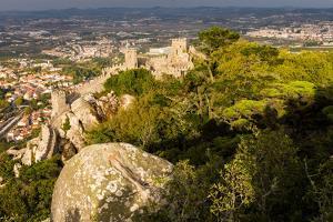 Moorish Castle (Castelo dos Morros), Sintra, Portugal by Mark A Johnson