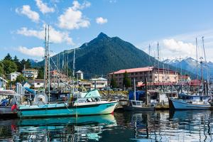 Sitka, Alaska, USA by Mark A Johnson