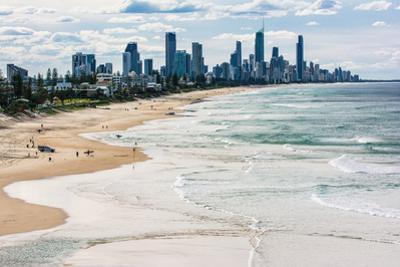 Surfers Paradise skyline, Gold Coast, Queensland, Australia by Mark A Johnson