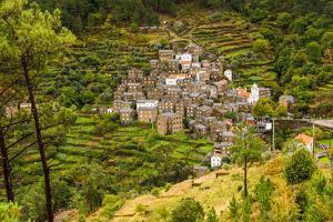 The stone village of Piodão, Portugal by Mark A Johnson