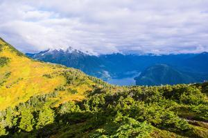 View from the summit of Mt. Verstovia, Sitka, Alaska, USA by Mark A Johnson