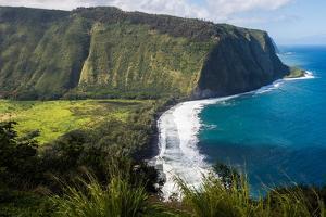 Waipio Valley, Big Island, Hawaii by Mark A Johnson