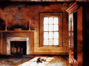 Heyward House Parlour by Mark A. Stewart