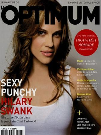 L'Optimum, March 2005 - Hilary Swank by Mark Abrahams
