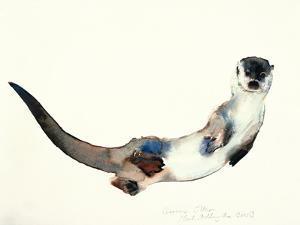 Curious Otter, 2003 by Mark Adlington
