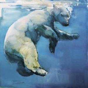 Floating, 2017, by Mark Adlington
