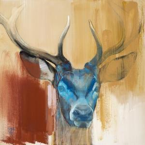 Mask (Young Stag), 2014 by Mark Adlington