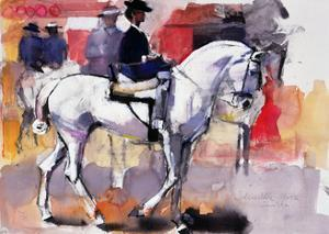 Side-Saddle at the Feria De Sevilla, 1998 by Mark Adlington